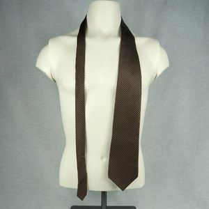 Deep Red Bill Blass Tie